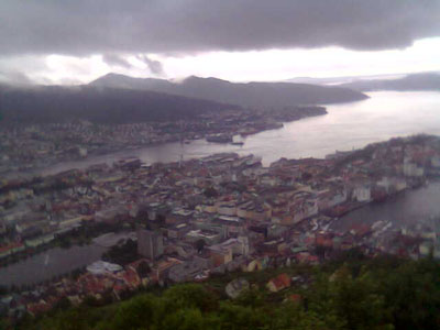 you are now above Bergen